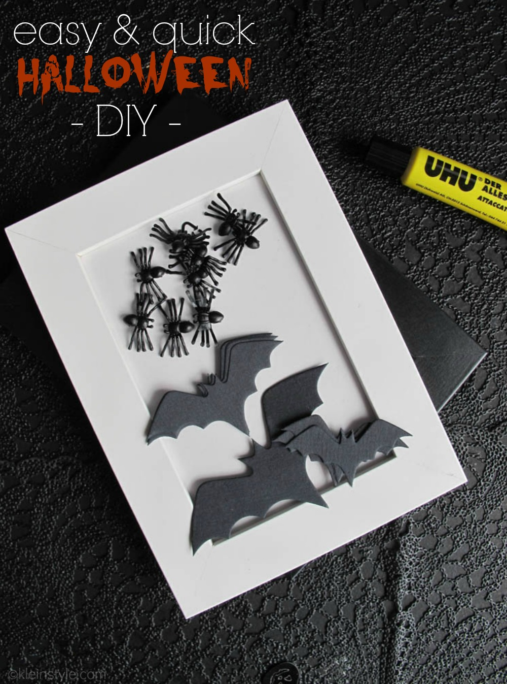 halloween diy ratz fatz deko kleinstyle. Black Bedroom Furniture Sets. Home Design Ideas